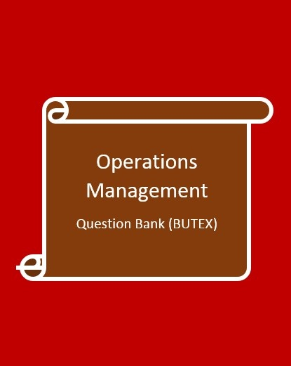 tqm question bank The impact of total quality management on the performance of the banking industry of nigeria ( a case study of first bank) abstract the study examined the impact of tqm on the performance of first bank, using uyo branch as a case study.