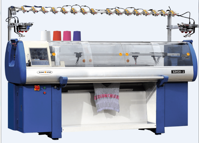 Knitting Machine Questions : Flat knitting technology textile study center