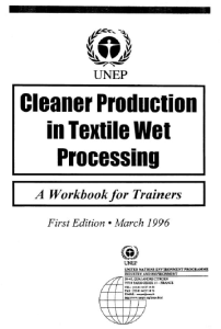 Cleaner Production in Textile Wet Processing ebook free download | textile study center | textilestudycenter.com