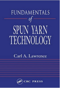 Fundamentals of Spun Yarn Technology ebook free download | textile study center | textilestudycenter.com
