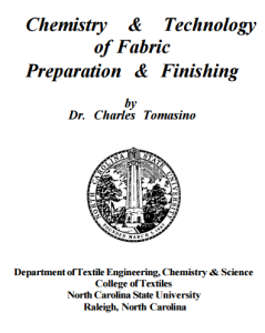 Chemistry and Technology of Fabric Preparation and Finishing ebook free download | textile study center | textilestudycenter.com