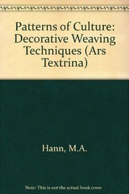 Decorative Weaving Techniques by M A Hann and B G Thomas ebook free download | textile study centere | textilestudycenter.com
