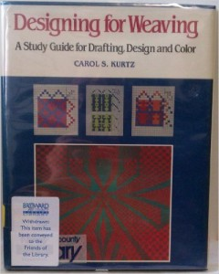 Designing for Weaving by CAROL S. KURTZ | textile study center | textilestudycenter.com