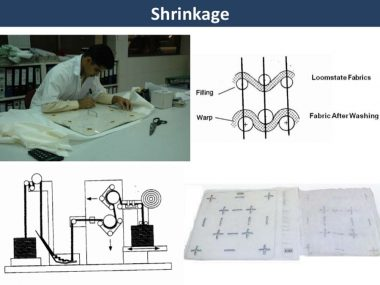 Shrinkage measurment steps
