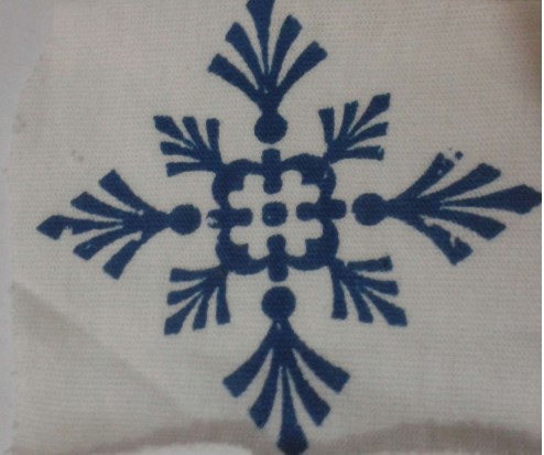 Printing of cotton fabric with reactive dyes (Screen printing method)