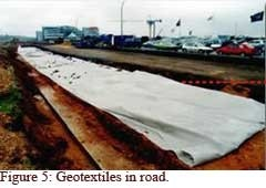 Geotextile | Forms of Geotextiles | Production of Woven Geotextiles | Application Areas of Geotextiles | Textile Study Center | textilestudycenter.com