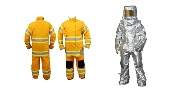 Fire Fighter Suitsaluminized suit | aluminized suit | Approach suit | Proximity suit | Entry suit | Thermal Environment Faced by Firefighters | Structure of firefighter suit   | Textile Study Center | textilestudycenter.com