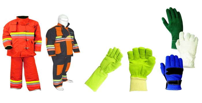 Protective Textiles | Heat & flame resistant clothing | Bulletproof clothing | Fire fighter suits | Clothing against chemical hazard | Micro-organism protection | Clothing for space shuttle | Global Technical Textile Market | Textile Study Center | textilestudycenter.com