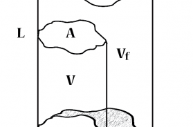 Change in dimension of a fiber with absorption in moisture