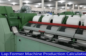 Lap Former Machine Production Calculation