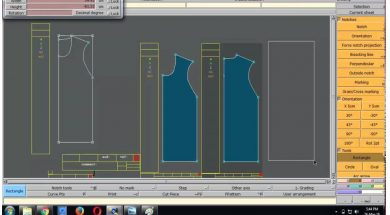 "Pattern making using ""LECTRA modaris"" software"