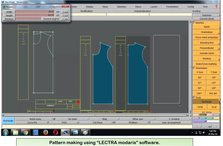 Application of Software in Apparel Manufacturing