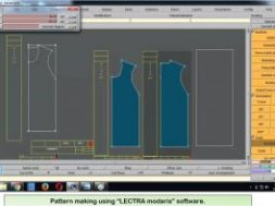 "Pattern-making-using-""LECTRA-modaris""-software-300×197"