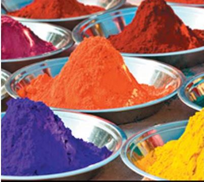 Natural Color Substances for Textile Materials